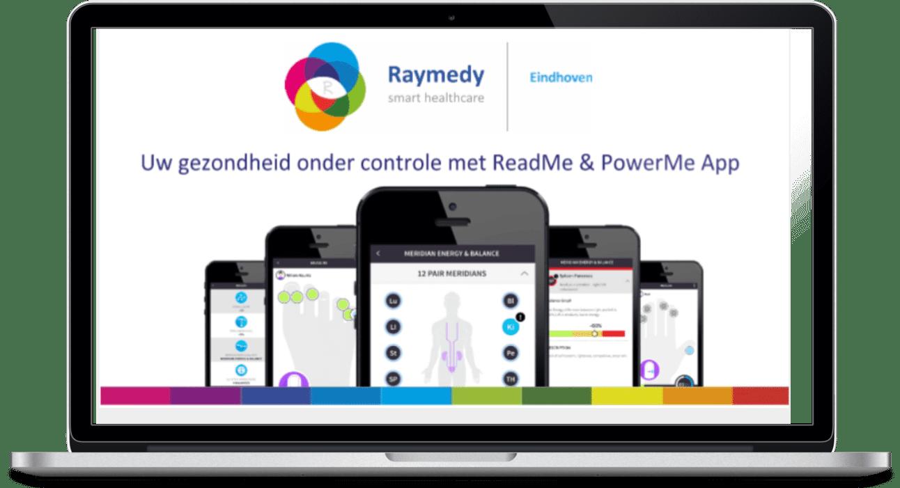 ReadMe en PowerMe Raymedy cenrtrum EIndhoven
